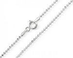 Sterling Sliver Bead Chain 18
