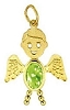 August Angel Gold Face Boy Charm