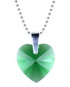 May Sweet Heart Birthstone Pendant